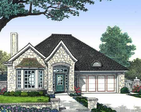 Plan 48125fm Petite European Home Plan French Country House Plans French Country House French House Plans