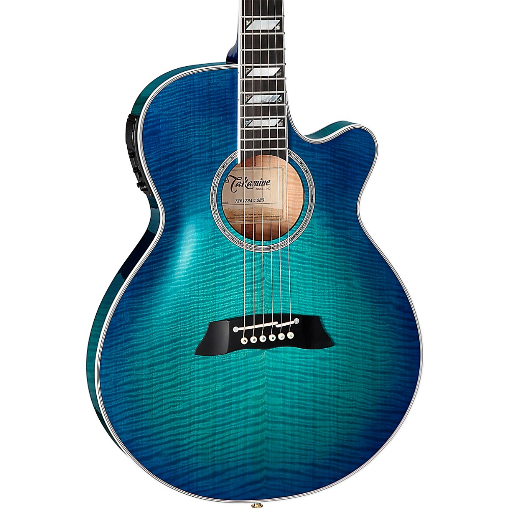 Takamine Tsp178ac Flamed Maple Thinline Acoustic Electric Guitar In 2020 Acoustic Electric Electric Guitar Acoustic Electric Guitar