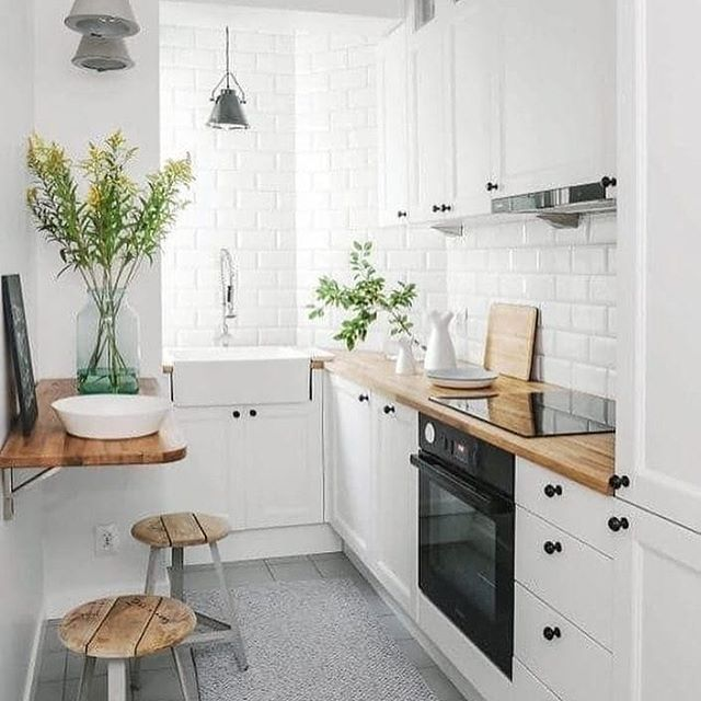 Making a small kitchen work @minimalistbible Dreamhouse in 2018