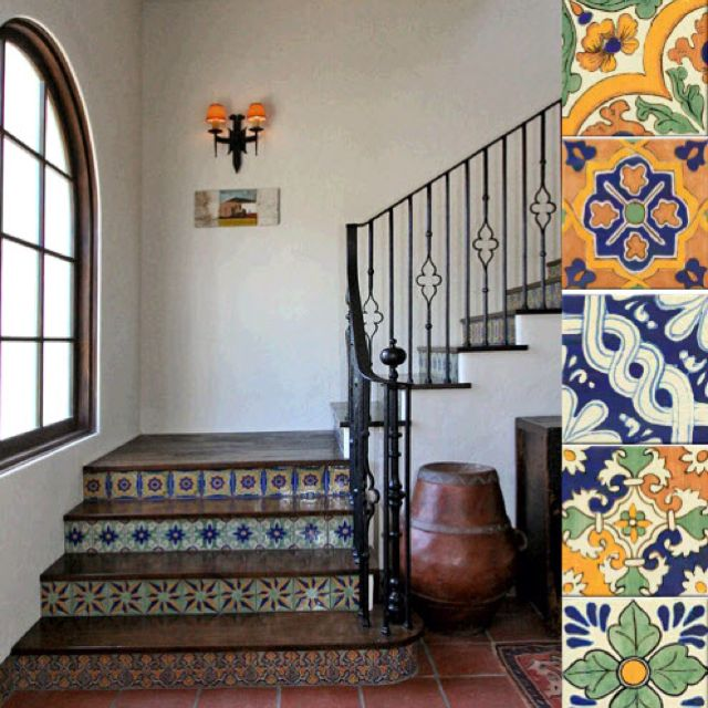 Decorative Spanish Tiles Fair Mexican Talavera  Newhouse  Pinterest  Mexicans Haciendas And Decorating Design