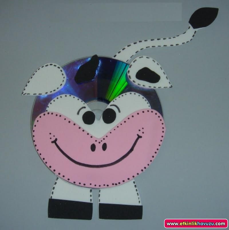 cd cow craft for kids | Crafts and Worksheets for Preschool,Toddler ...