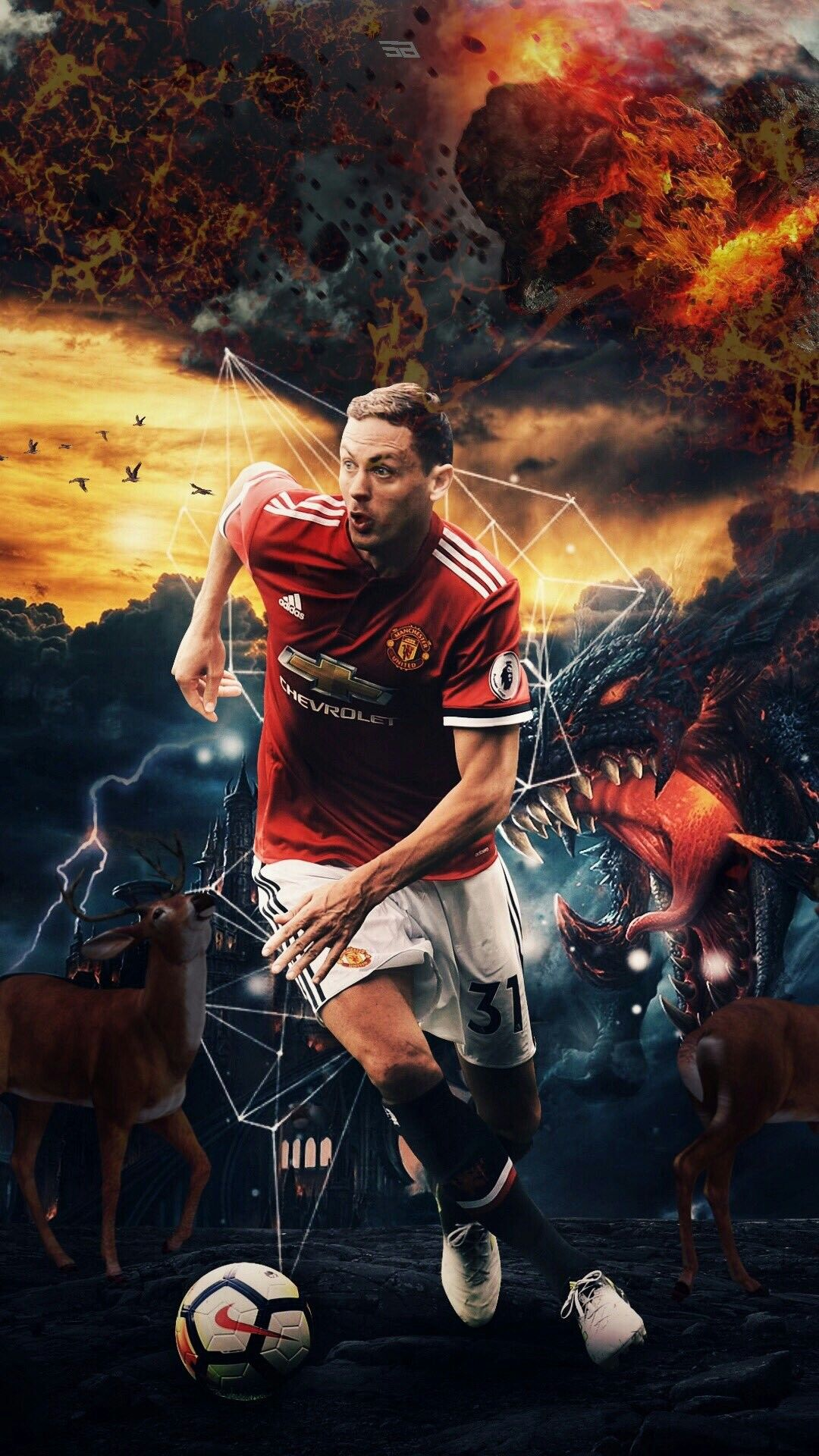 Matic Football PL MU Art Matic