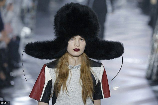 An eye-catching collection: Louis Vuitton didn't disappoint its guests, as the legendary brand ensured the 2016 Autumn/Winter collection was full of their trademark flair and subtle quirks