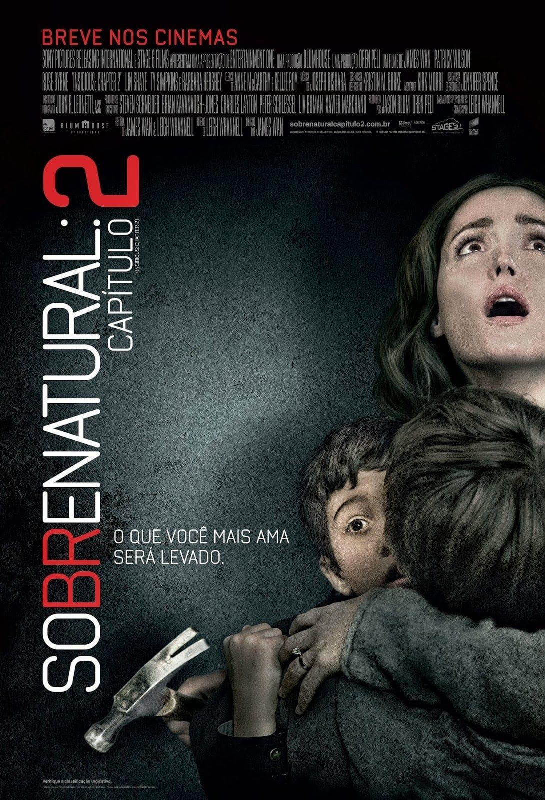 Assistir Sobrenatural Capitulo 2 Insidious Chapter 2 Dublado Online Hd A Familia Lambert Formada Por Josh Melhores Filmes De Terror Filmes Filmes On Line