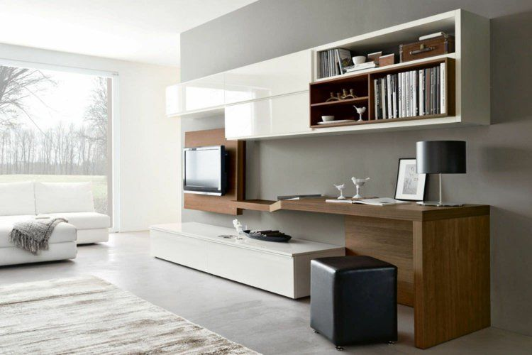 Aménagement de bureau moderne dans un salon design ! | Tv sets and ...
