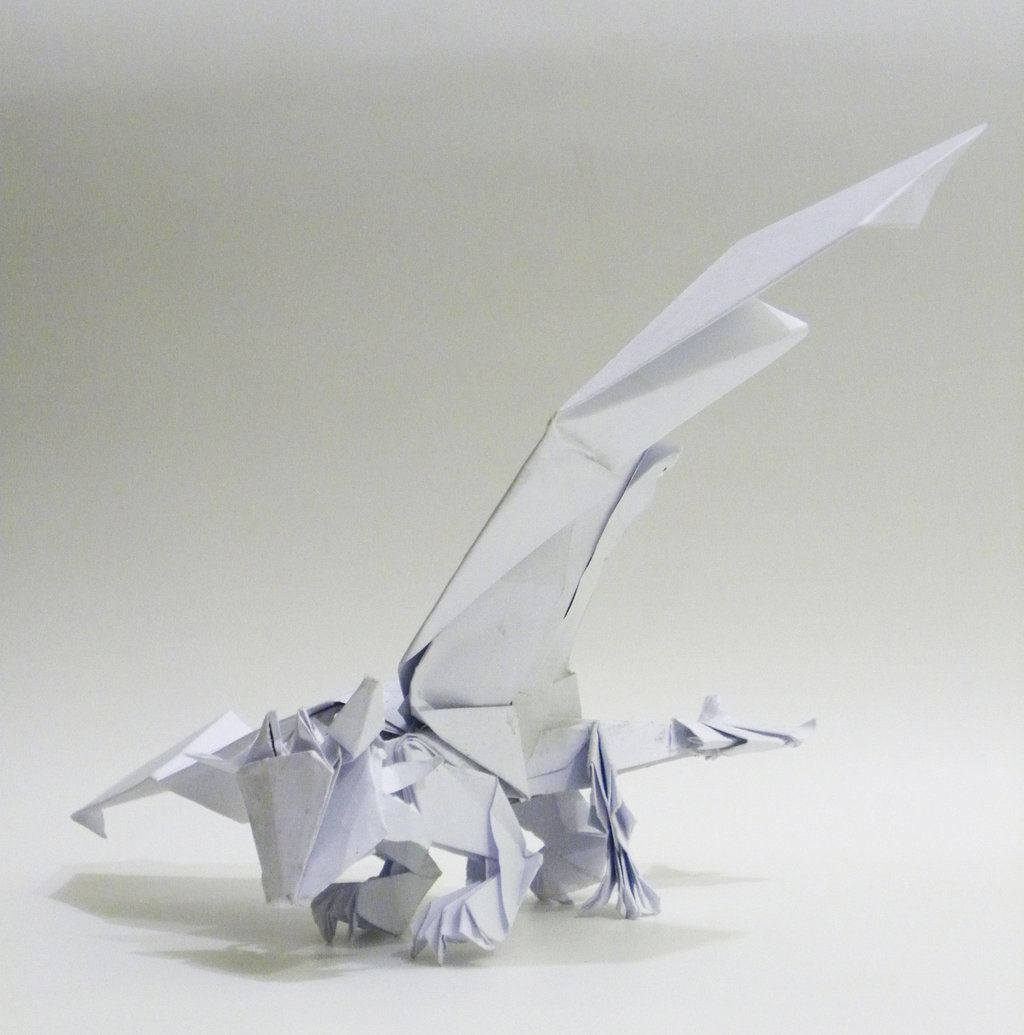 Origami Toothless By Twistedndistorted On Deviantart Epicness Parrotdiagram Barth Dunkan Ecorigami
