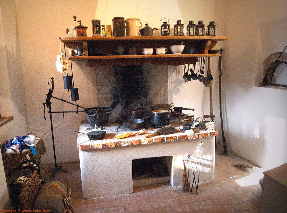 La cucina vecchia