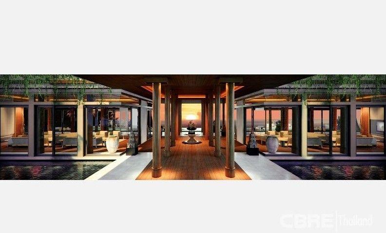 Architecture Plan for Andara Luxury villa, Villa, Resort