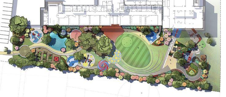 Children Park Layout Idea Google Search Parking Design Kindergarten Design Children Park