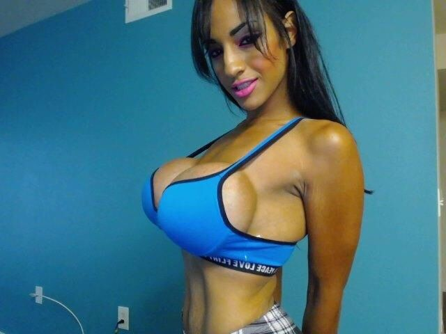 sports Big tits bra in