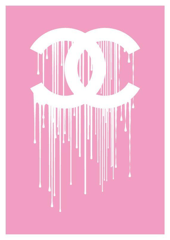 chanel pink liquidate dripping logo so vs choice of
