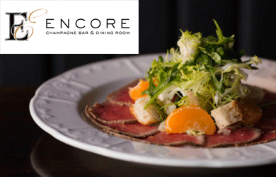 Come have a delicious and elegant meal at Encore restaurant in San Diego! Check out sandiego.dealcurrent.com for amazing offers on fine dining in San Diego!