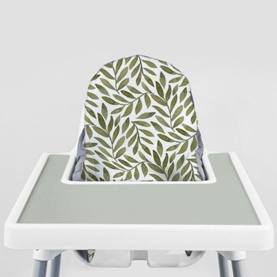 Strange Green Leaves Ikea Antilop Highchair Cover High Chair Short Links Chair Design For Home Short Linksinfo