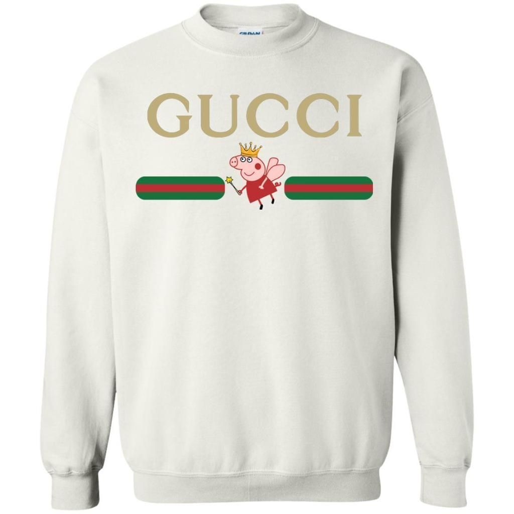 49c0ca52abc4 Amazing Peppa Pig Gucci Sweatshirt | SOKOOLGADGET | Outfits in 2019 ...