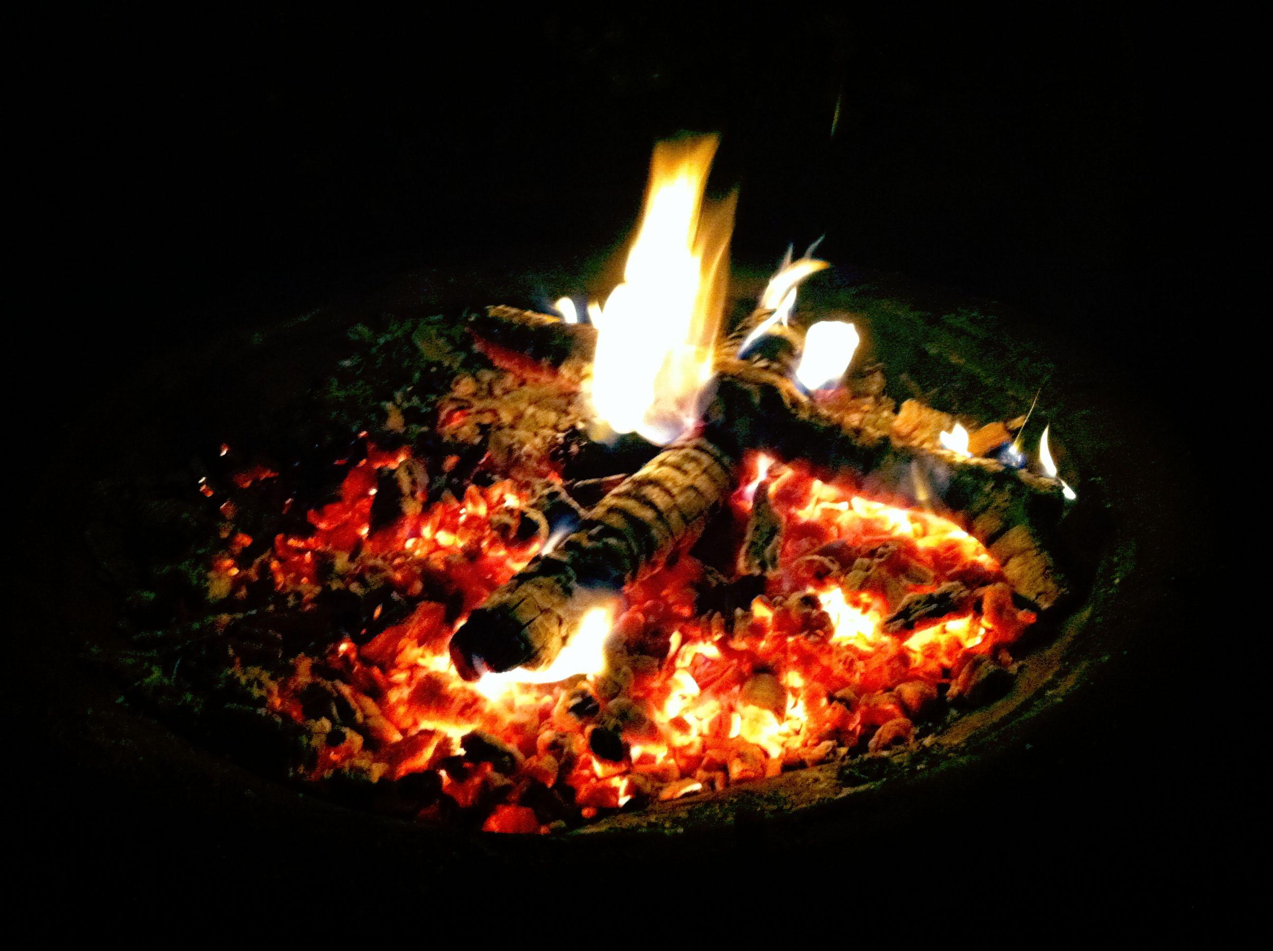 Backyard Bonfire Wedding : Backyard bonfire  For the Garden  Pinterest