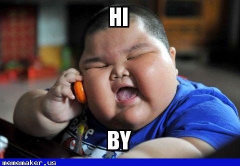 Funny Baby Meme Creator : Awesome meme in http: mememaker.us: clubs fat chinese kid meme