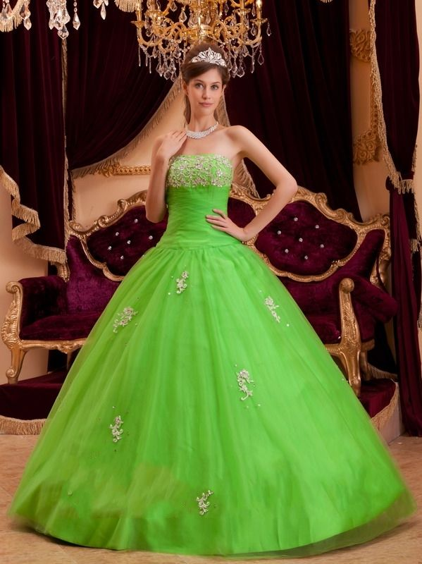 Quinceanera Dress | Prom | Pinterest | Green, Search and Party ...