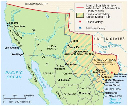map of Rio Grande river Mexico Monterrey - Celendaria and ...