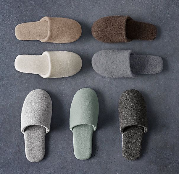 Photo of Cashmere Scuff Slippers