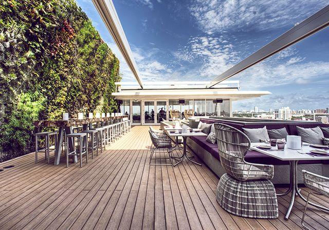 Juvia Penthouse Miami Beach Great Hotels Bars Restaurants