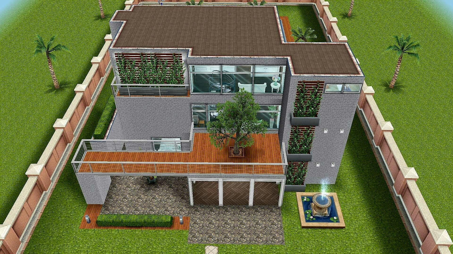 #Sims FreePlay Beach House Orginal Design