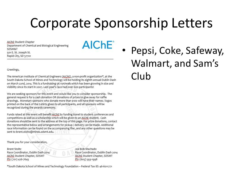 Image result for 5k sponsorship letter Margarita Run Pinterest - letter sponsorship