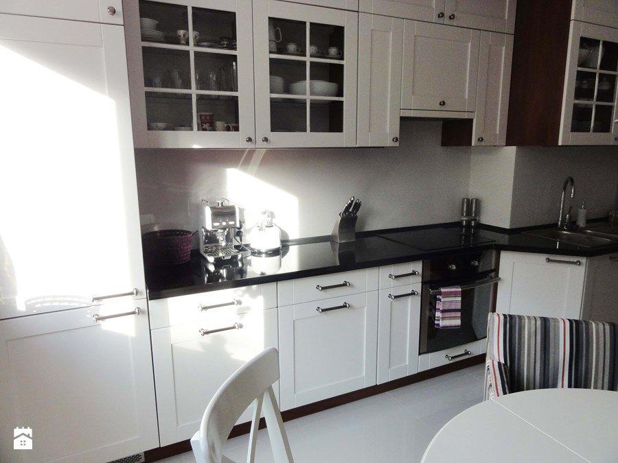 Biała kuchnia Kuchnia  Rustykalna kuchnia  Pinterest -> Kuchnia Retro Ikea