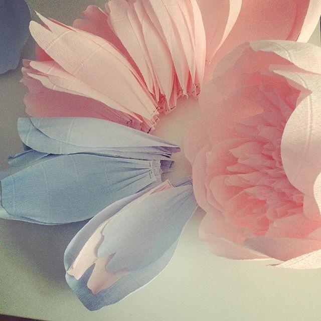 Такое нежное сочетание #пион #vrn #воронеж #декор #бумажныецветы #арендадекора #работа #бумага