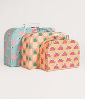 Tropical Summer Paper Suitcase Set # colorful #photooftheday #cute #picofthed …