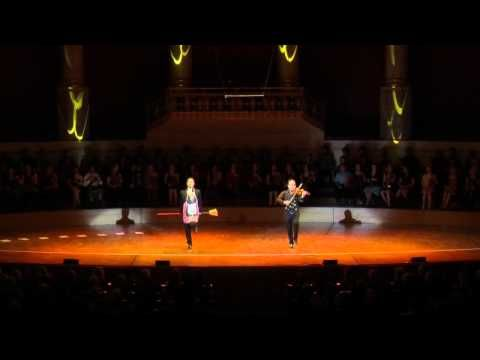 The Igudesman and Joo UNICEF World Record of the Most Dancing Violinists