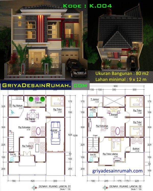 Desain Rumah Minimalis Modern 2 Lantai Desain Rumah Di 2019