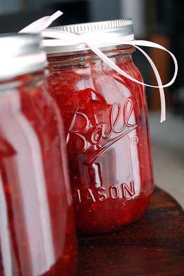 three square chef: Strawberry Jam