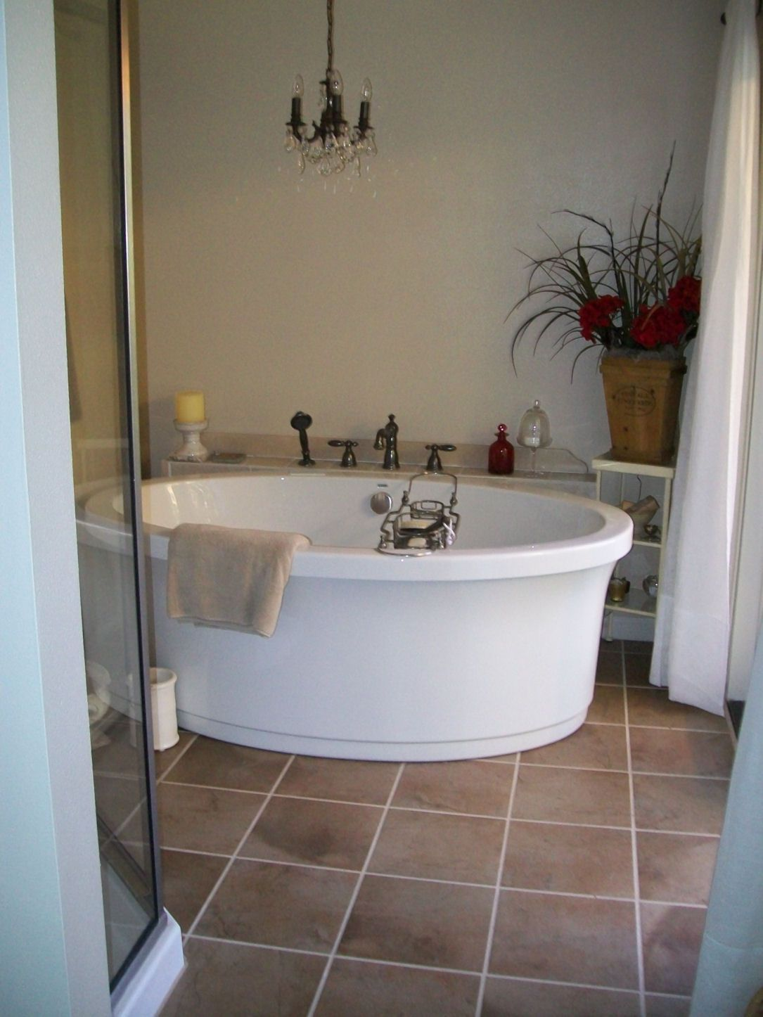 new bath almost complete, yeah!