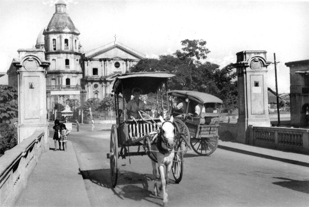 San Fernando Metropolitan Cathedral San Fernando City Pampanga Philippines C1945 1946 Pampanga Philippines People Heritage District