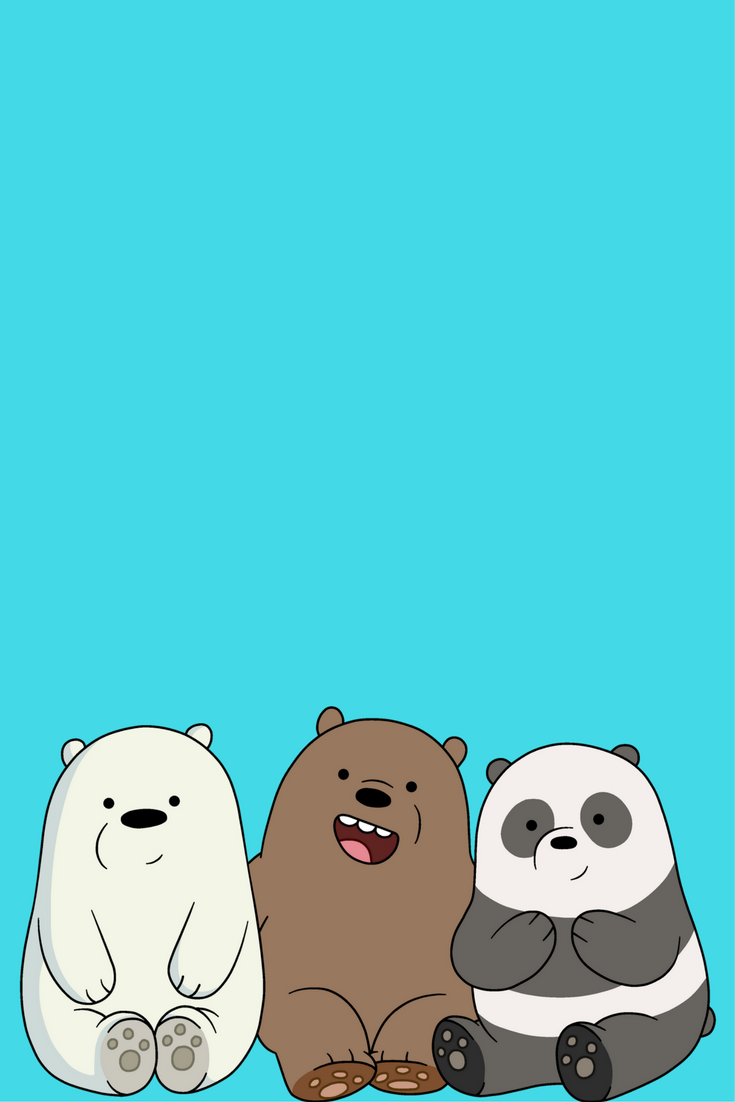 Desenhos  Iphone wallpaper in 2018  Pinterest  Bare bears, We bare bears and We bare bears