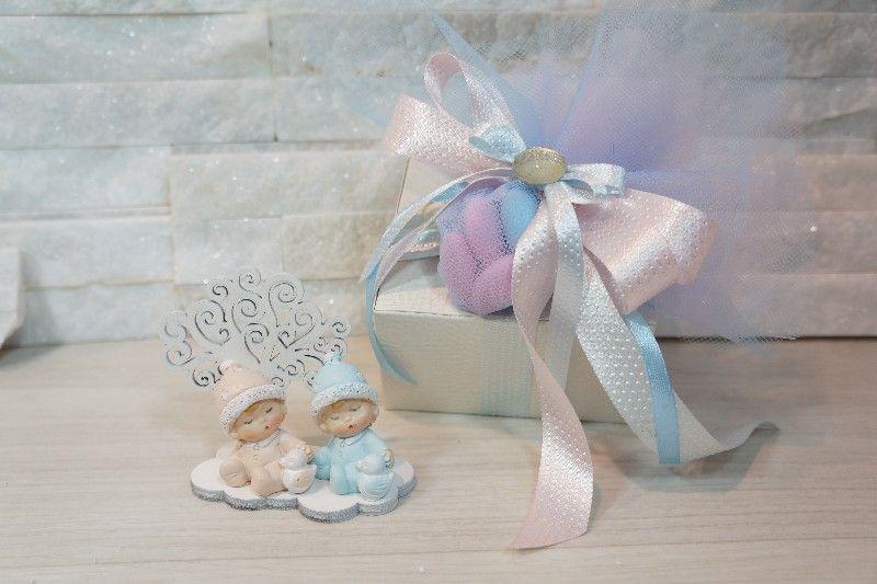 Estremamente Regali e Bomboniere - Prodotti - Battesimo E Nascita - GEMELLI PA92