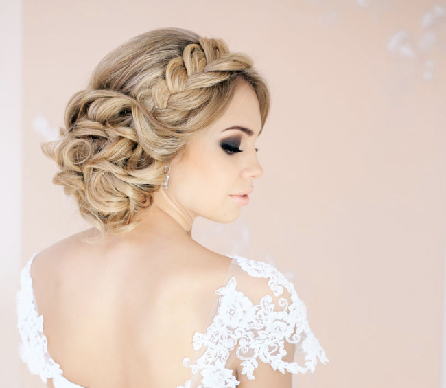 Wedding Hairstyles 30 Creative And Unique Wedding Hairstyle Ideas  Unique Wedding