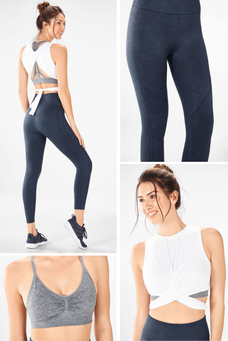 f85a18457b Approved by celeb trainer Massy Arias, this three-piece outfit from her  Massy Made