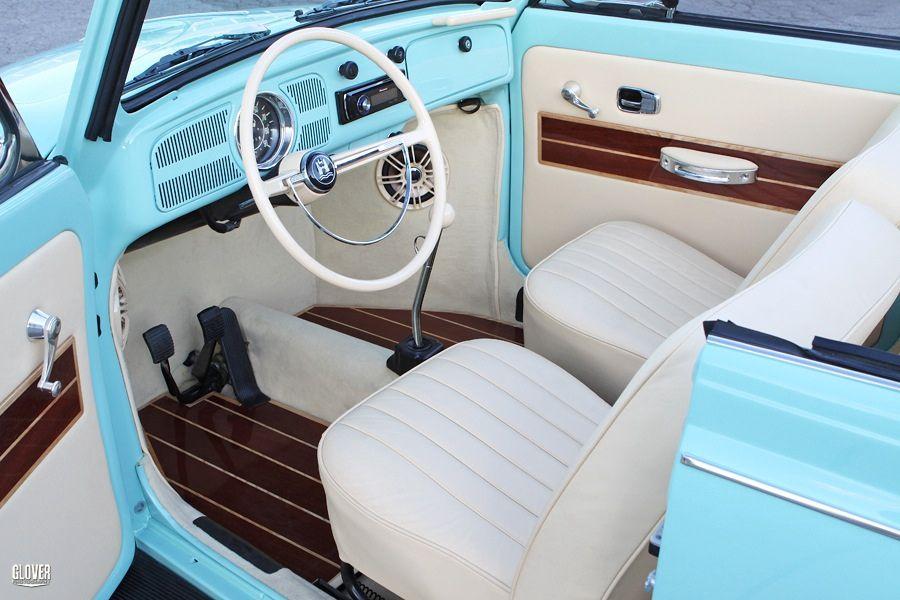 As es como quiero el interior de mi vocho hermoso vw pinterest vocho interiores - Decoracion interior coche ...
