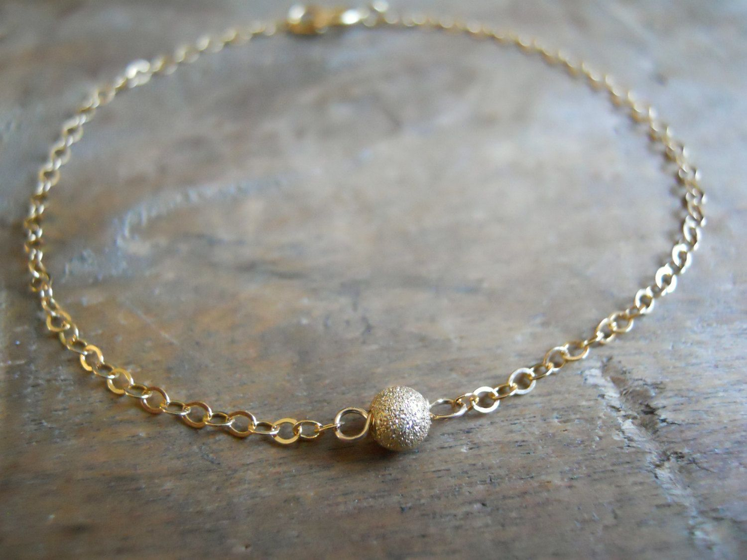 filled dainty lithe delicate fullxfull sterling bracelet jewelry option il chain golden bright or drops feminine p dew silver satellite gold