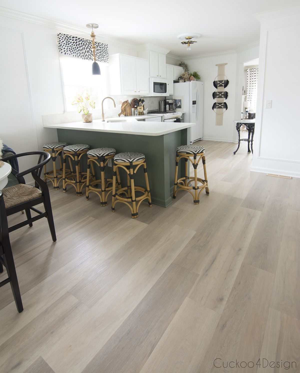 Most Popular Kitchen Flooring: Why I Chose Karndean Vinyl Wood Plank Flooring