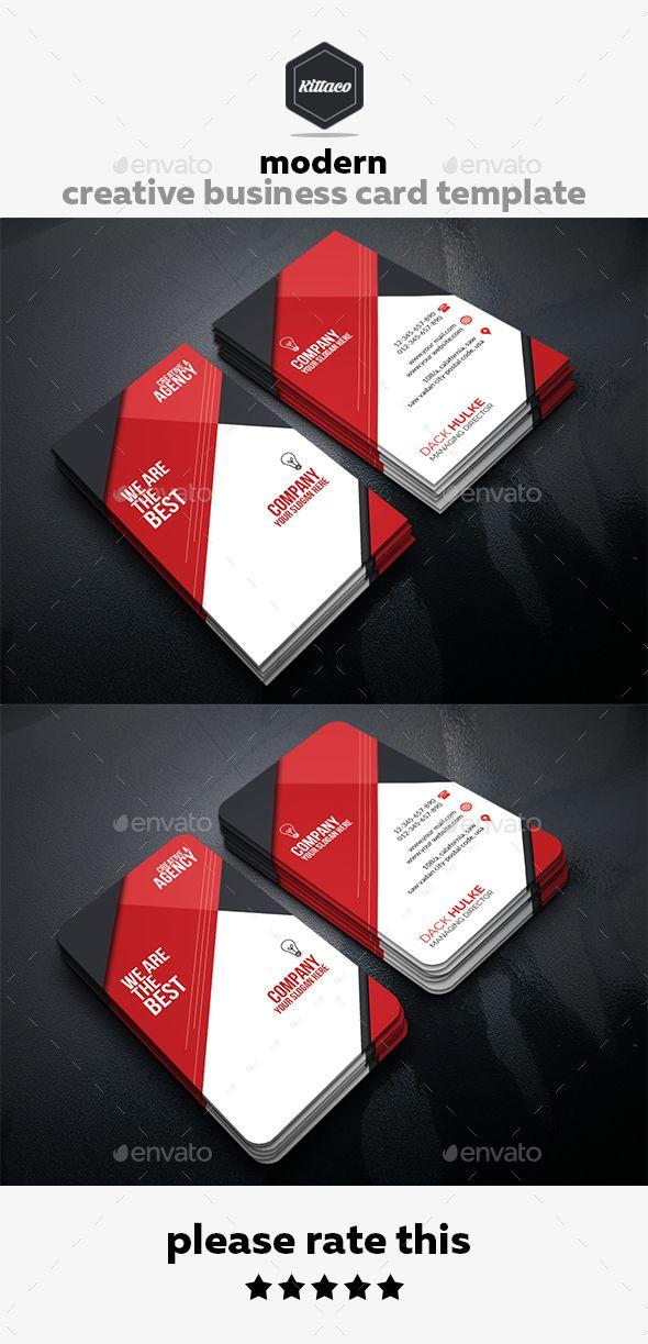 Modern Creative Business Card Template 2 Business Cards Creative Templates Business Cards Creative Vertical Business Card Template