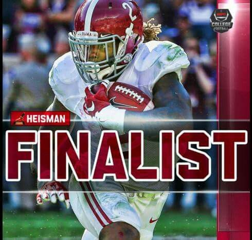 Derrick Henry 1 of 3 Heisman Finalist 2015