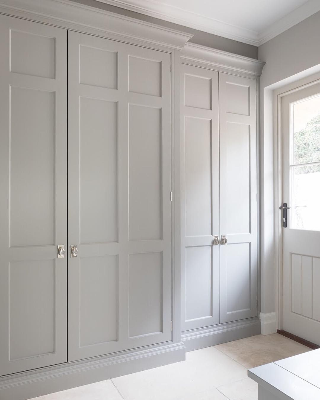Behind These Doors In The Boot Room At The Park Lodge Project Is The Plant Room Who Would H Bedroom Built In Wardrobe Fitted Bedroom Furniture Fitted Bedrooms