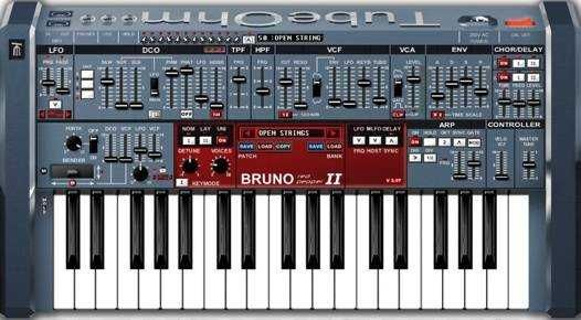 "BRUNO-205 v1.41 VSTi WiN Team: ASSiGN | Date: 22 OCTOBER 2010 | Size: 6.87 MB Bruno is an ""old school"" synthesizer with a ""new modern sound"" offering lead"