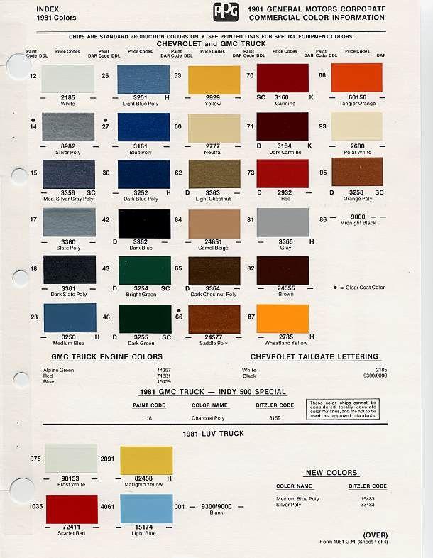 auto paint codes | Auto paint colors | Codes | Paint code, Car paint