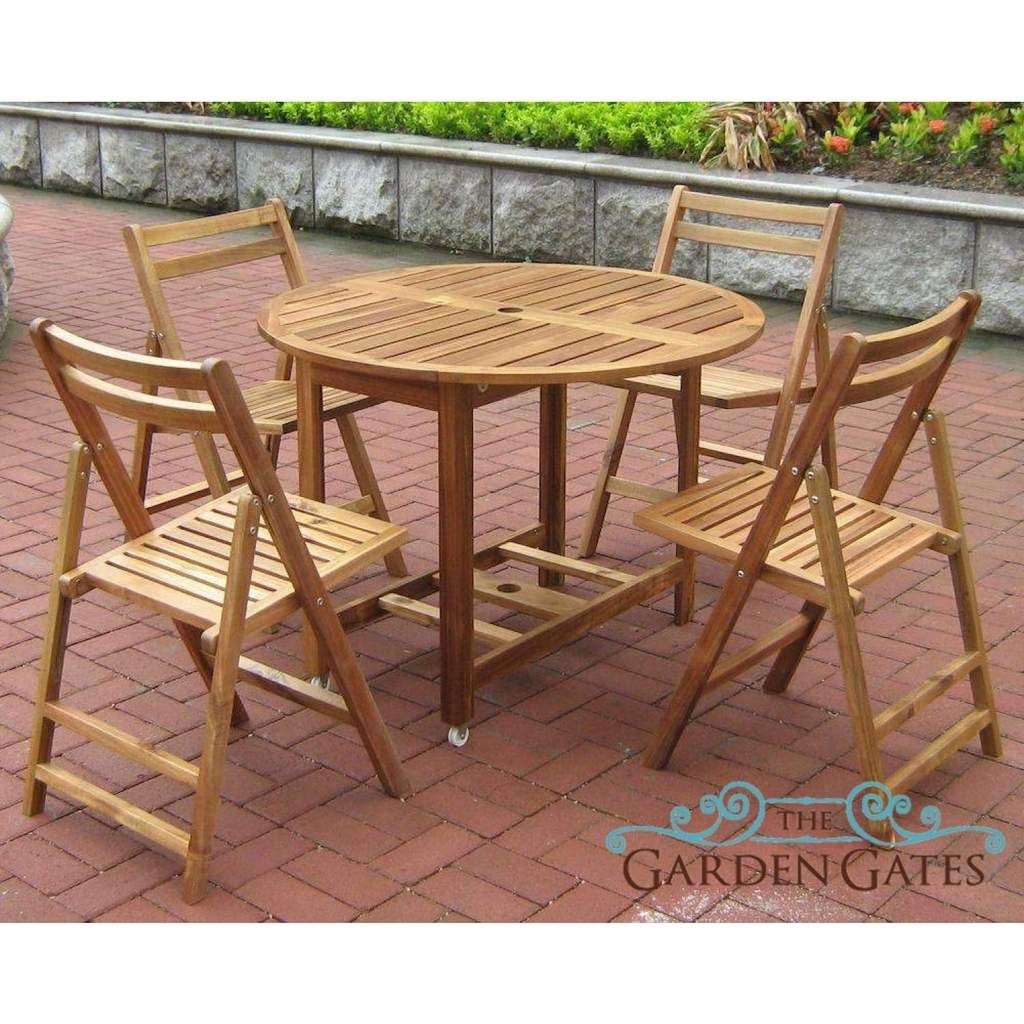 Acacia Folding Table And Chair Set Wooden Outdoor Furniture Wooden Patio Furniture Outdoor Wood Furniture Outdoor Tables And Chairs