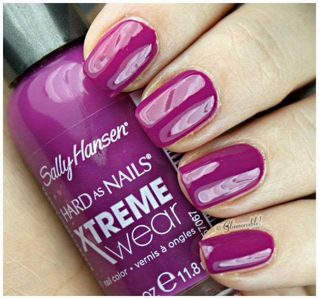 Sally Hansen XTreme Wear Pep-Plum - My new favorite nail polish! Rich color and superior shine!!