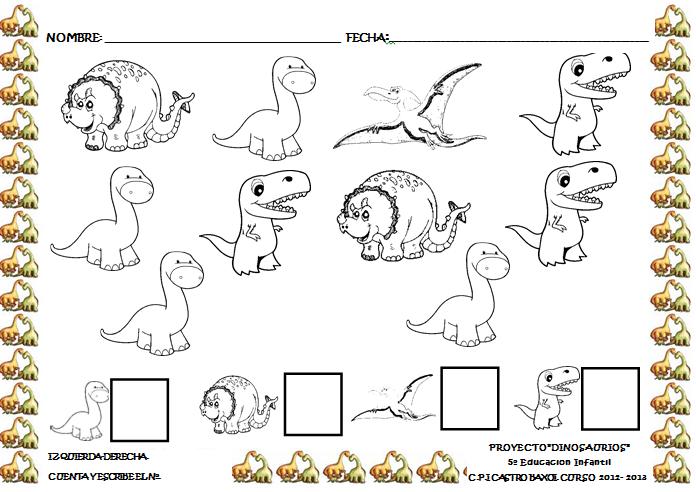 Os Dejamos Mas Actividades Impresas De Elaboracion Propia Sobre El Proyecto De Los Dinosaurio Proyectos De Dinosaurios Actividades De Dinosaurios Dinosaurios