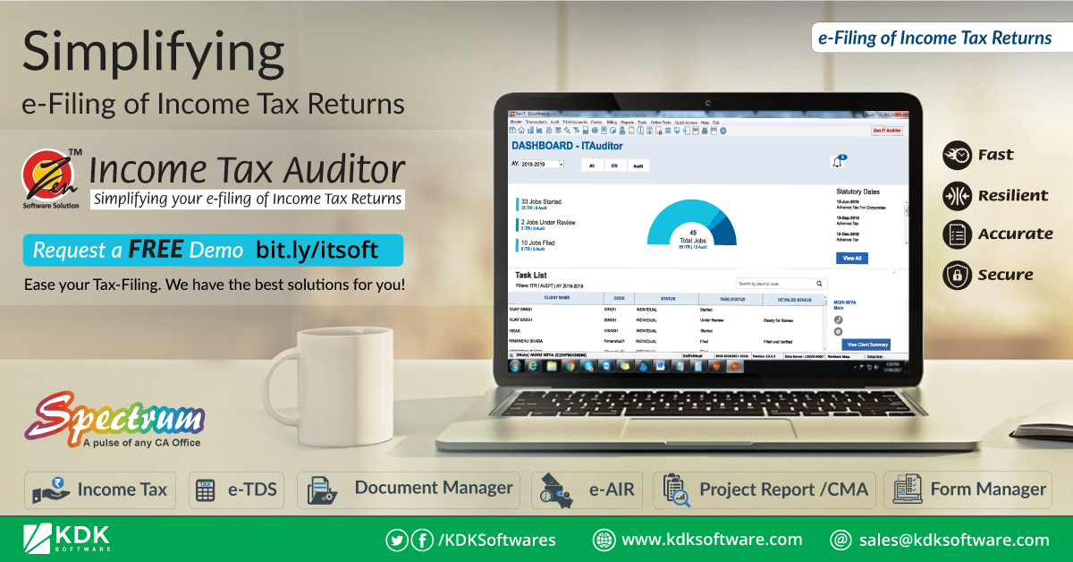 simplifying e filing of income tax returns with spectrum a completed compliance software 360 solution the return microsoft excel balance sheet template sample business